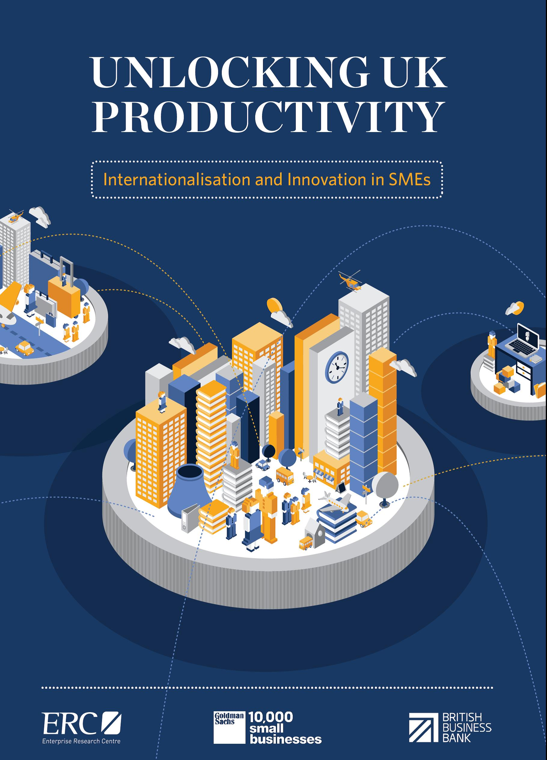 Unlocking UK Productivity Report cover jpeg